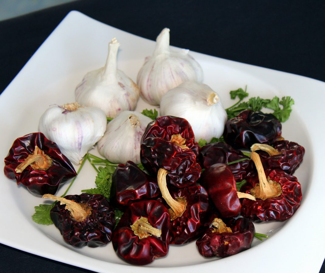Ingredientes para hacer Salmorreta Alicantina