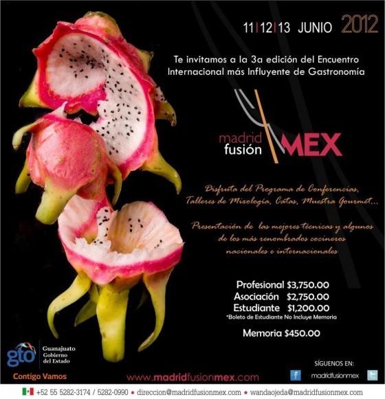 madrid fusion mexico 2012