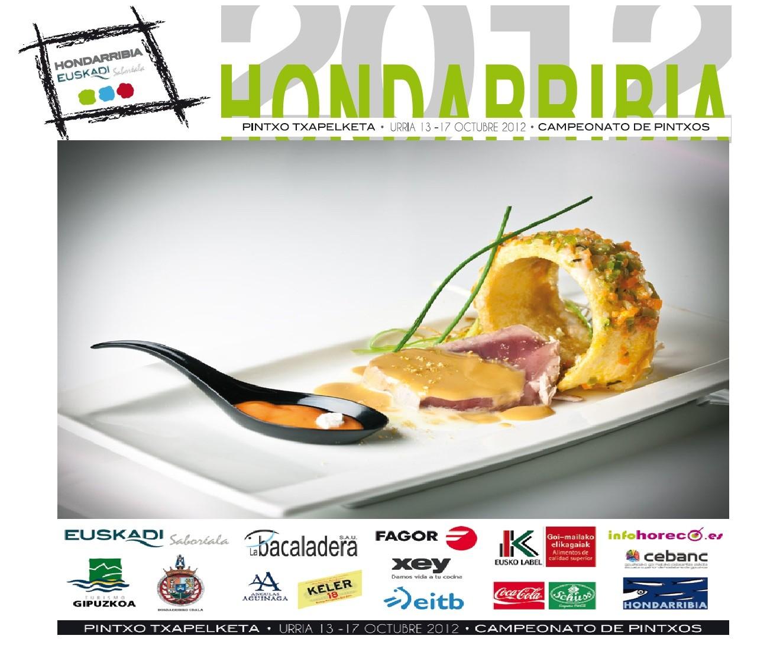 Campeonato de Pintxos Euskadi Saboréala