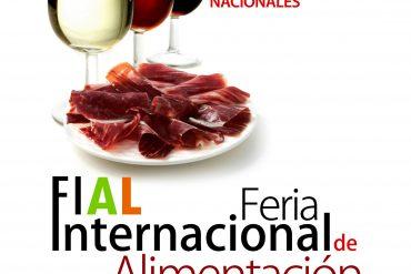 Cartel Fial Feria Internacional de Alimentación 2012
