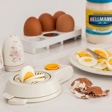 Huevos y mayonesa