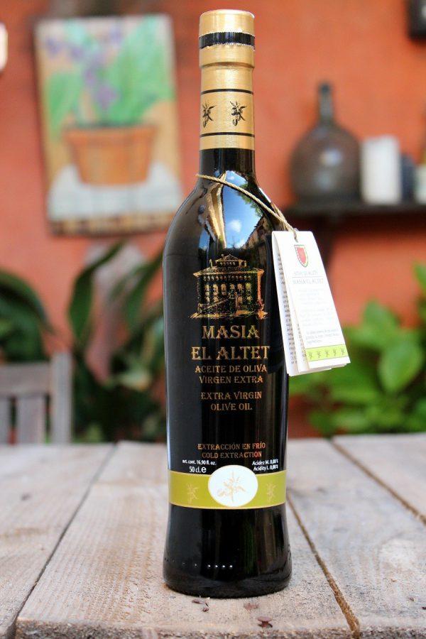 Masía el Altet - Aceite de oliva virgen extra