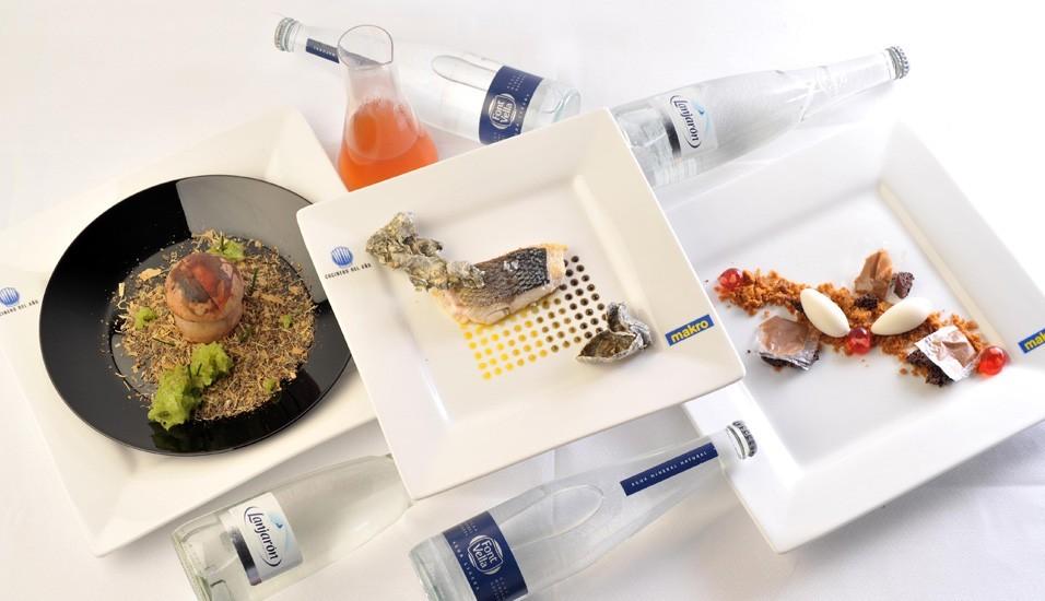 Menú ganador Final del Concurso Cocinero del Año 2012