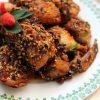 Pollo frito con miel y sésamo 1