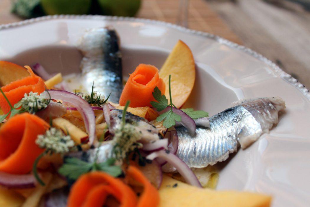 Cebiche de sardinas