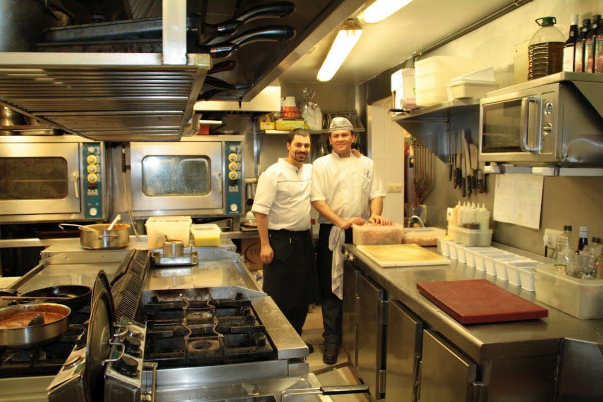 Cocina del Restaurante El Narizotas