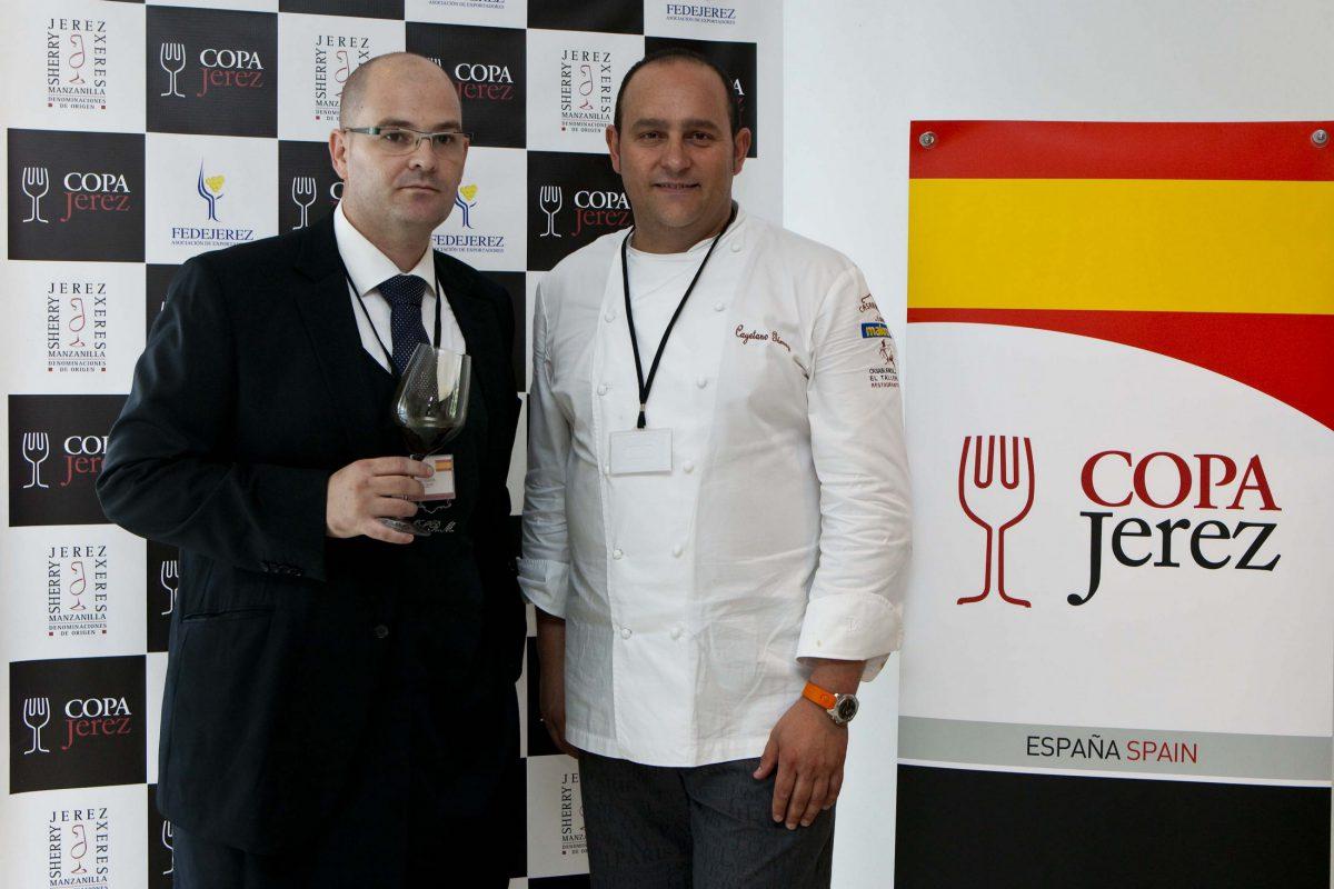 Cayetano Gómez y Juan Luis Garcia. Chef y Sumiller Restaurante Casablanca