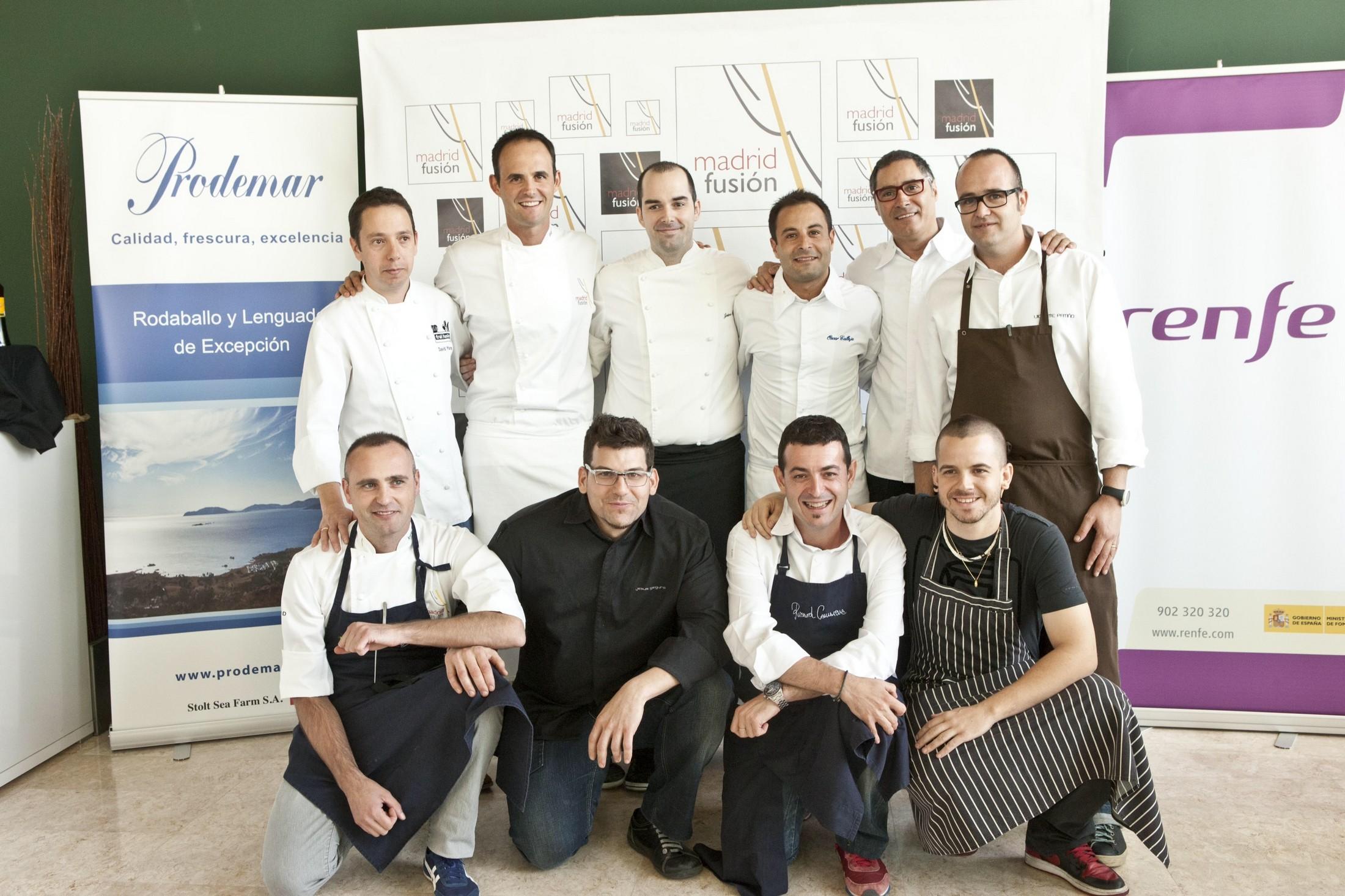 Cocineros nominados al Premio al Mejor Mejor Plato Vegetal del año 2012