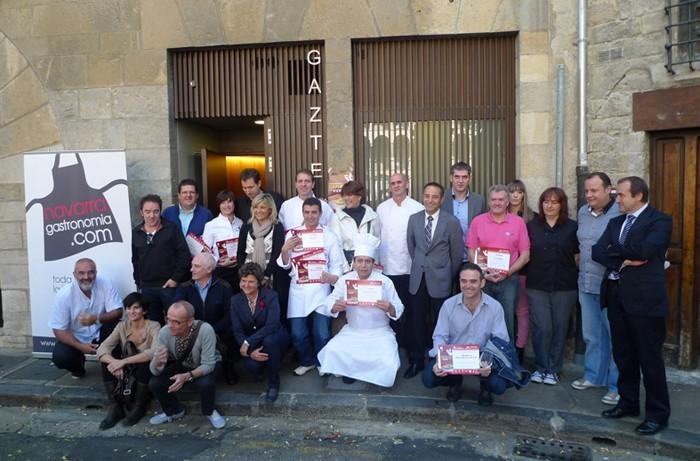 Premiados Semana de la Cazuelica de Navarra 2011