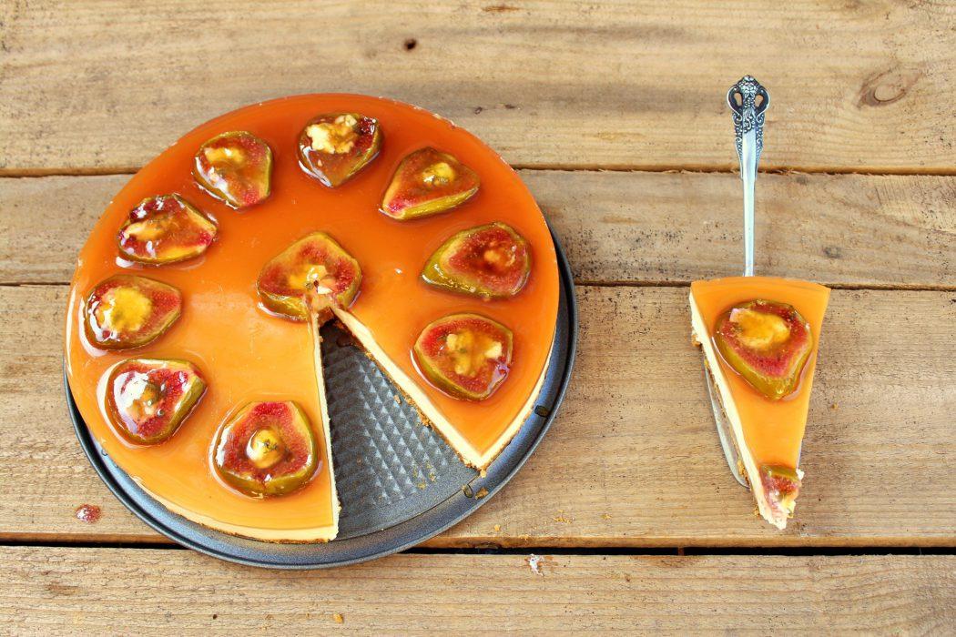 tarta de queso y brevas