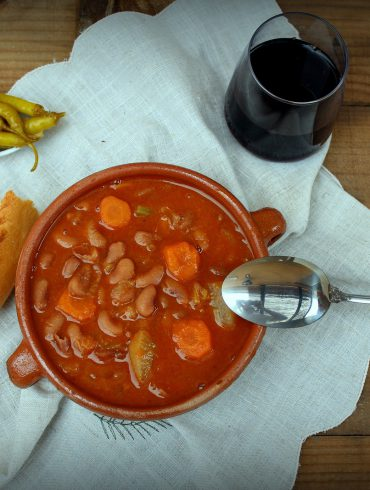 Alubias con verduras-4