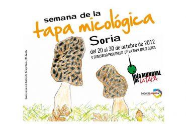 frontal semana de la tapa micologica de soria 2012