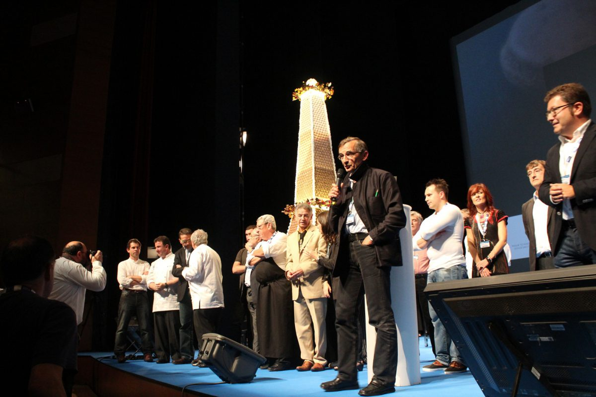Michel Bras - homenaje cocina francesa - san sebastian gastronomika 2012