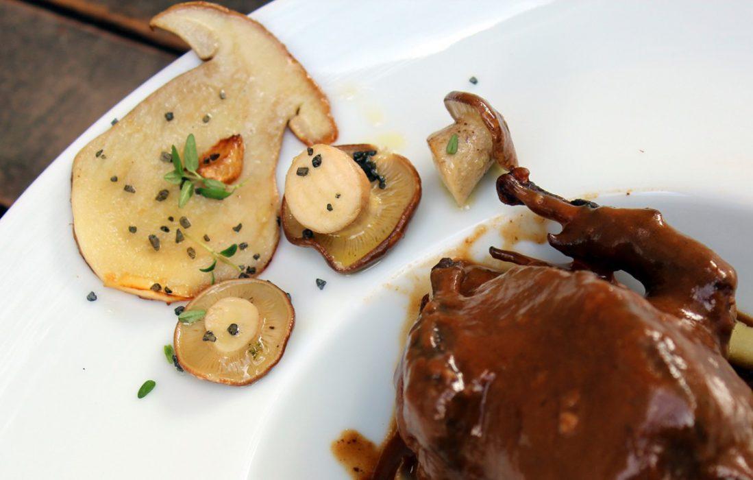 palomas en salsa con setas-5