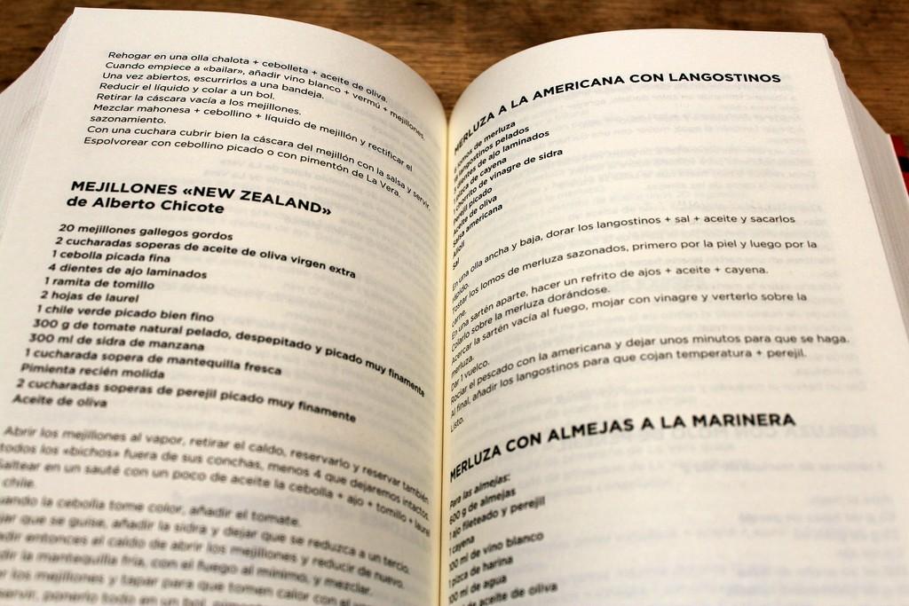 999 recetas sin bobadas, David de Jorge y Martín Berasategui