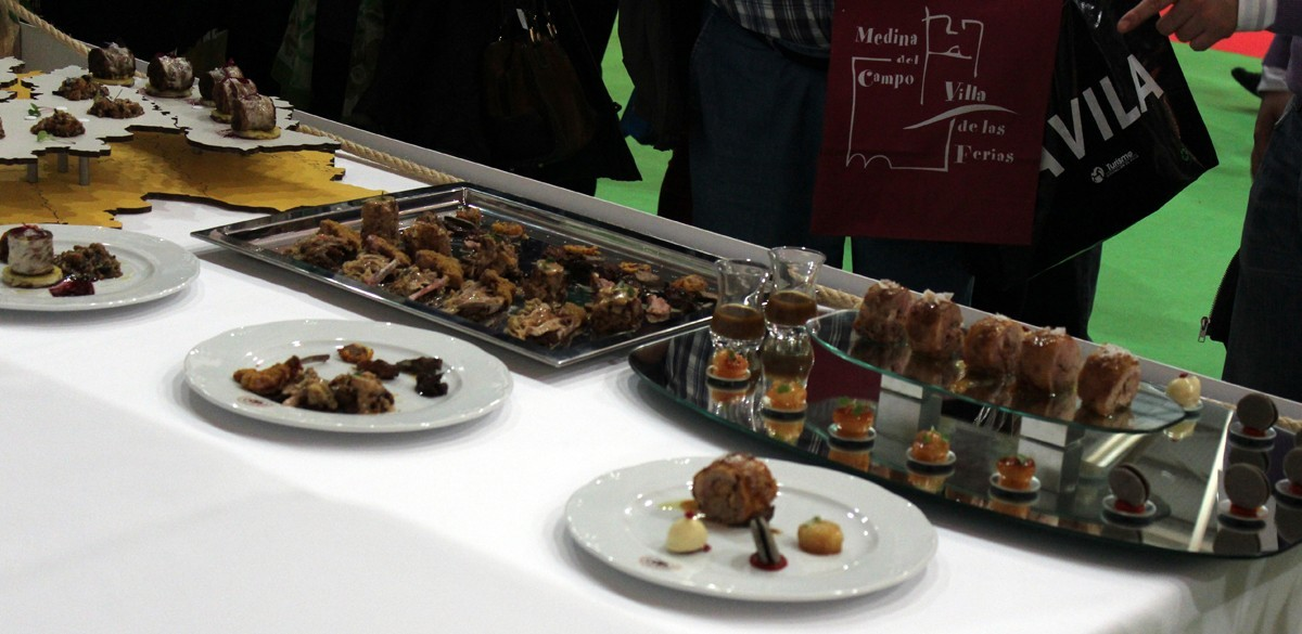 Tres propuestas a base de cordero lechal del Campeonato del Concurso de Cocineros de Castilla y León