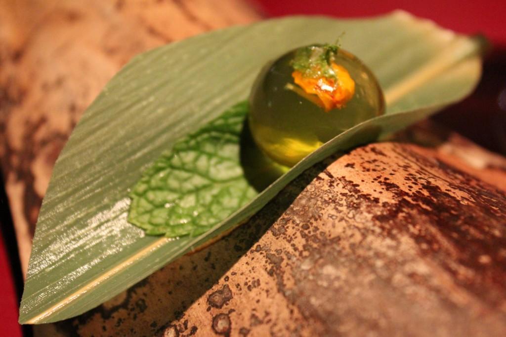 Ámbar de miel de agave,tequila y Lima