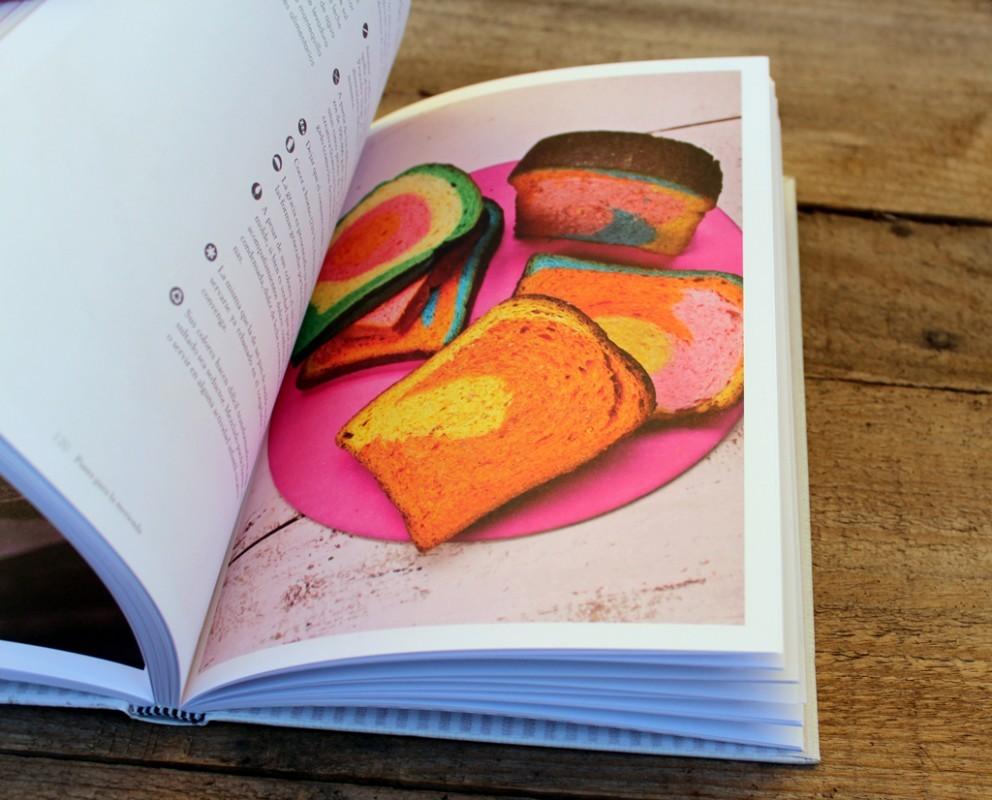 Interior del libro Panes Creativos