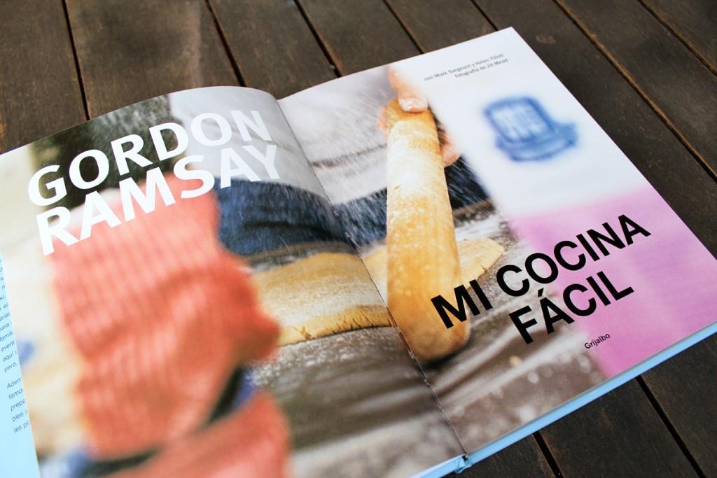 Interior del libro Mi Cocina fácil, las recetas de Gordon Ramsay