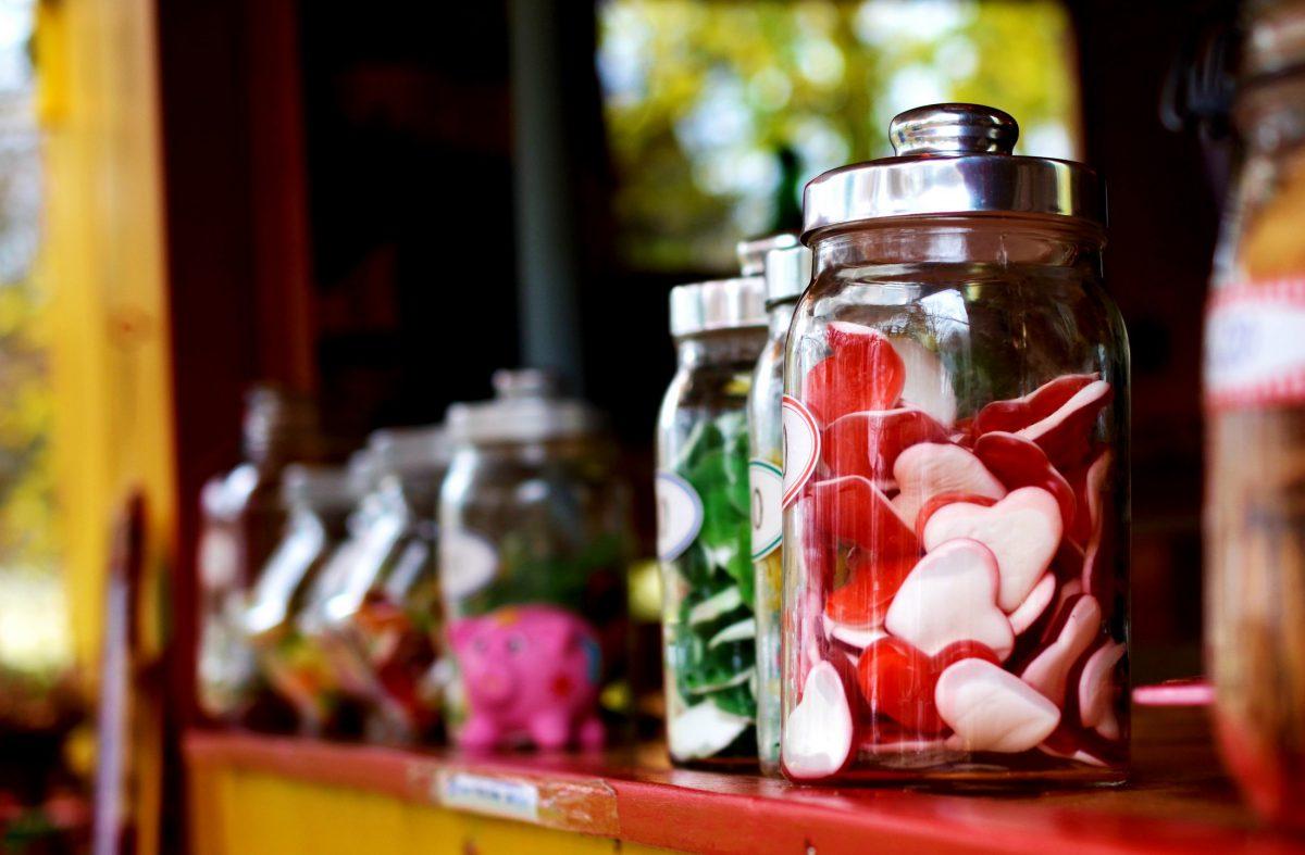 Gominolas chucherias dulces