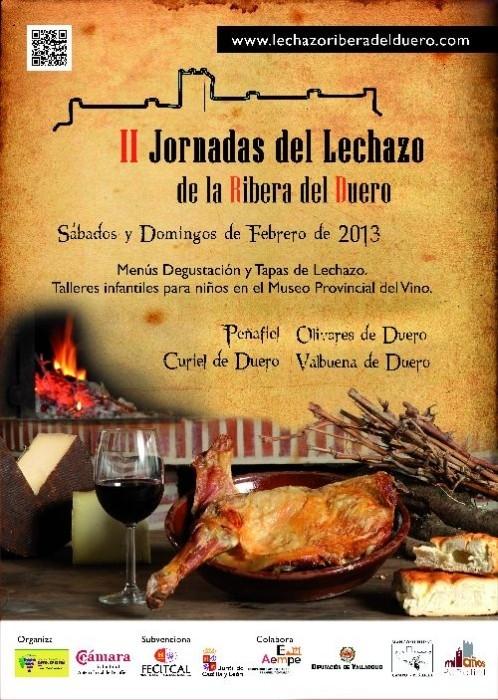Cartel Jornadas de Lechazo 2013