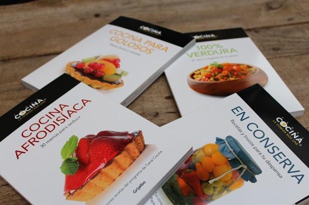 libros con las mejores recetas de canal cocina