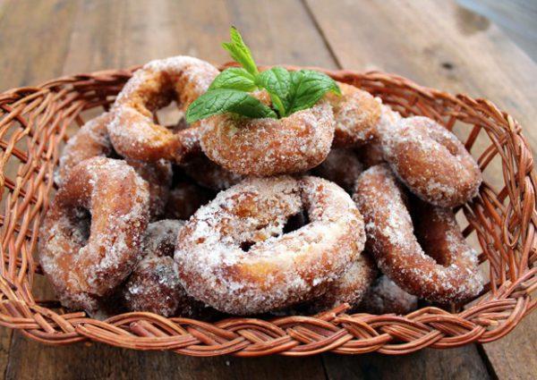 Rosquillas Fritas, receta tradicional