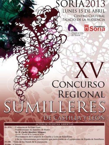 cartel concurso sumilleres de castilla y leon 2013