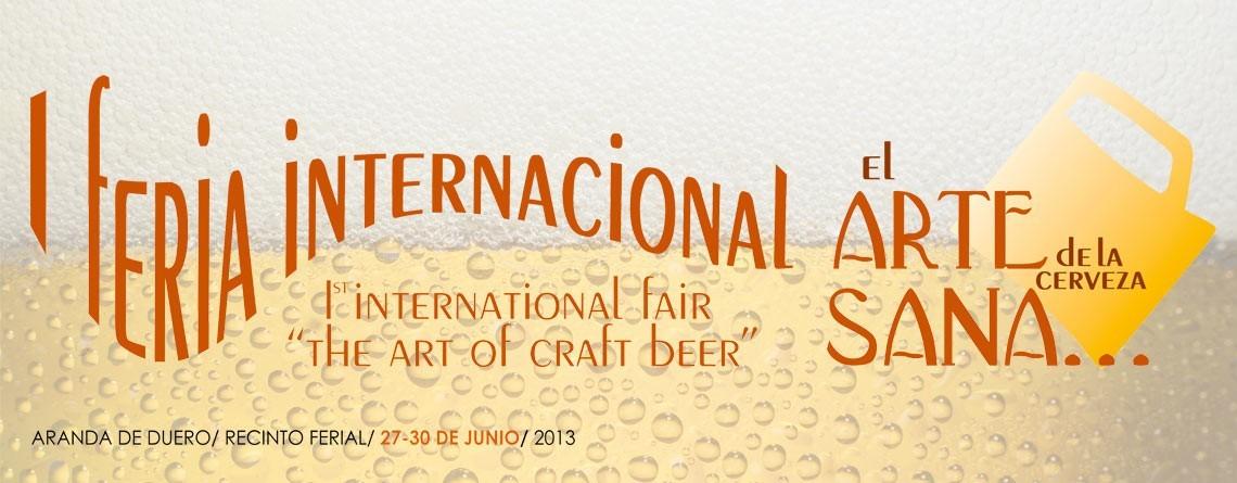 Feria Internacional Cerveza Artesana Aranda de Duero