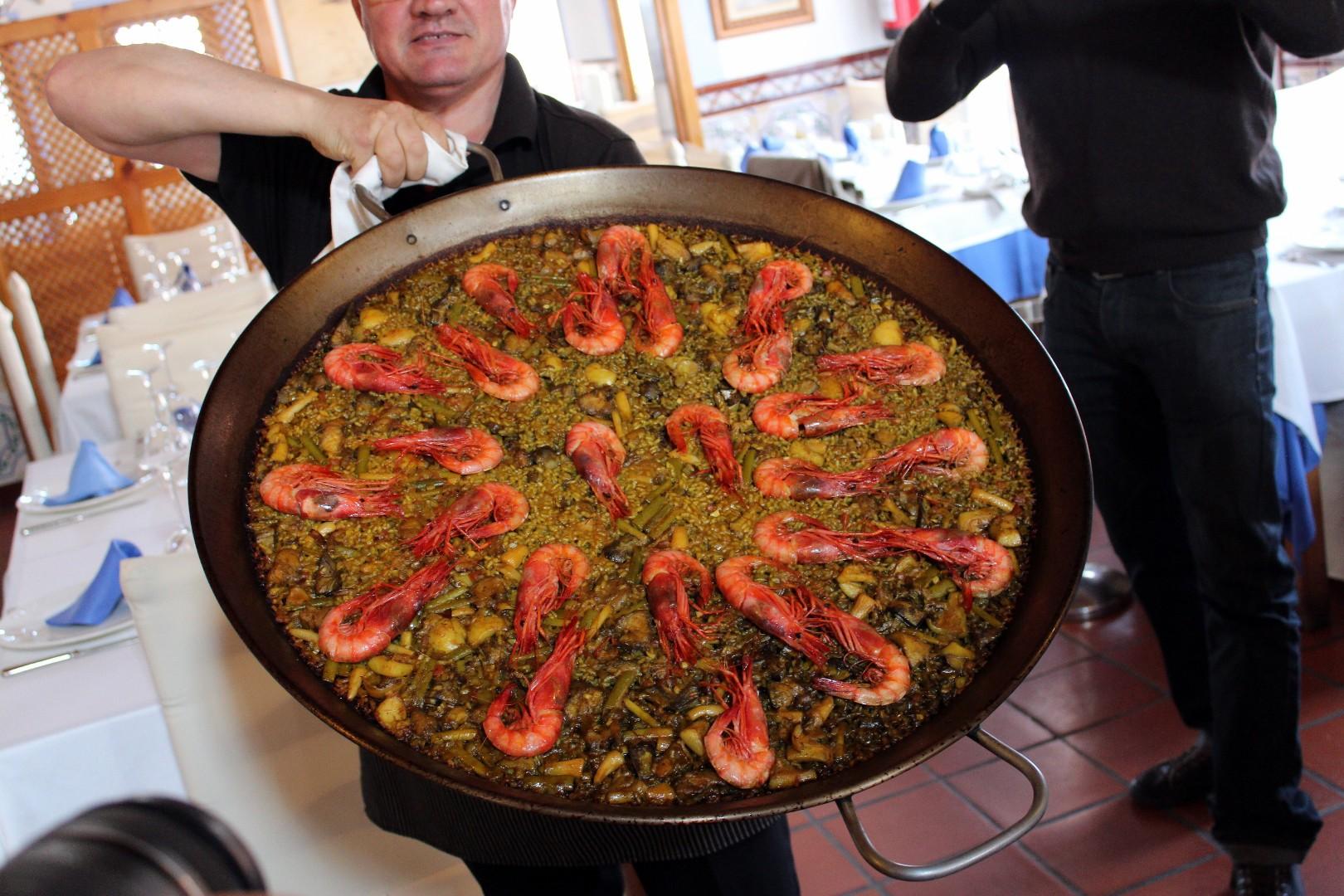 Paella de Casa Salvador