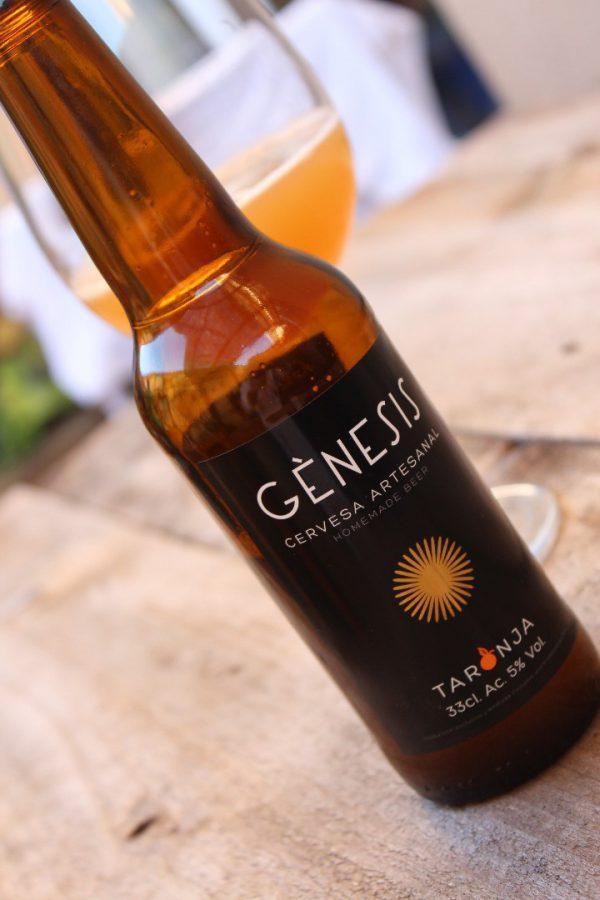 cerveza artesanal de naranja