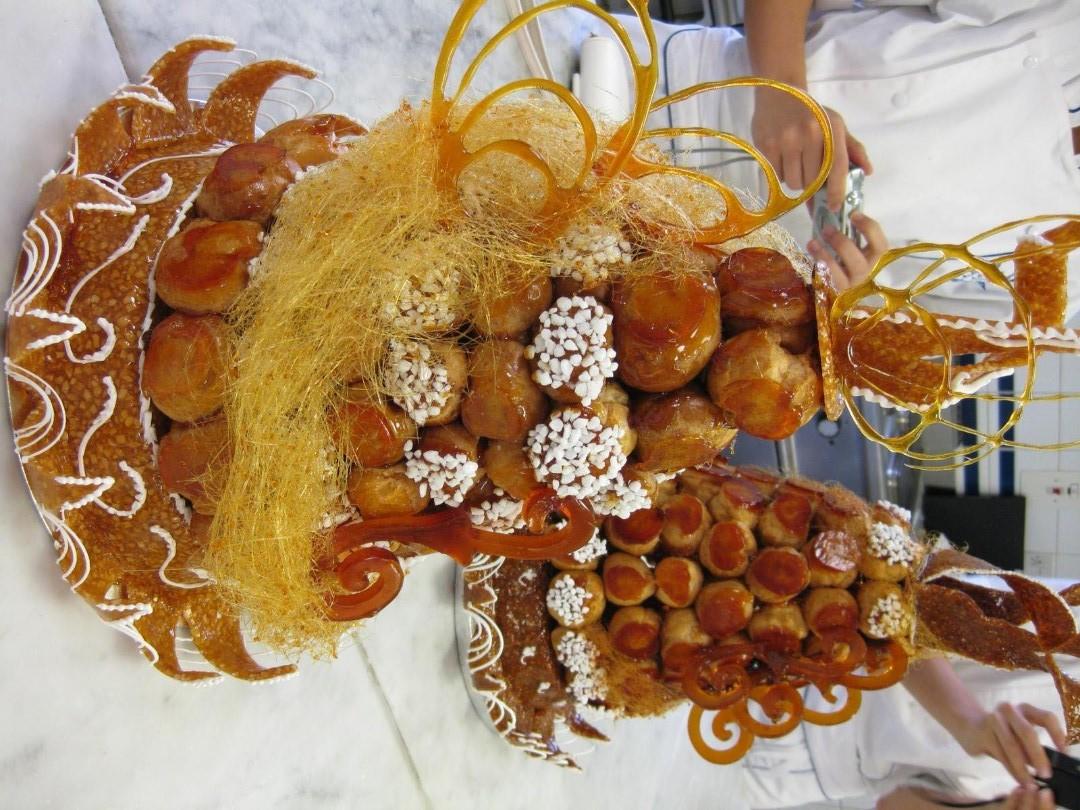Tarta Croquembouche