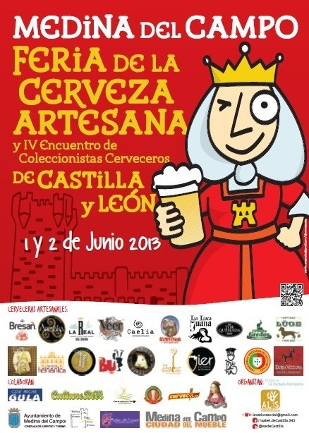 I Feria de Cerveza Artesana de Castilla y León -cartel