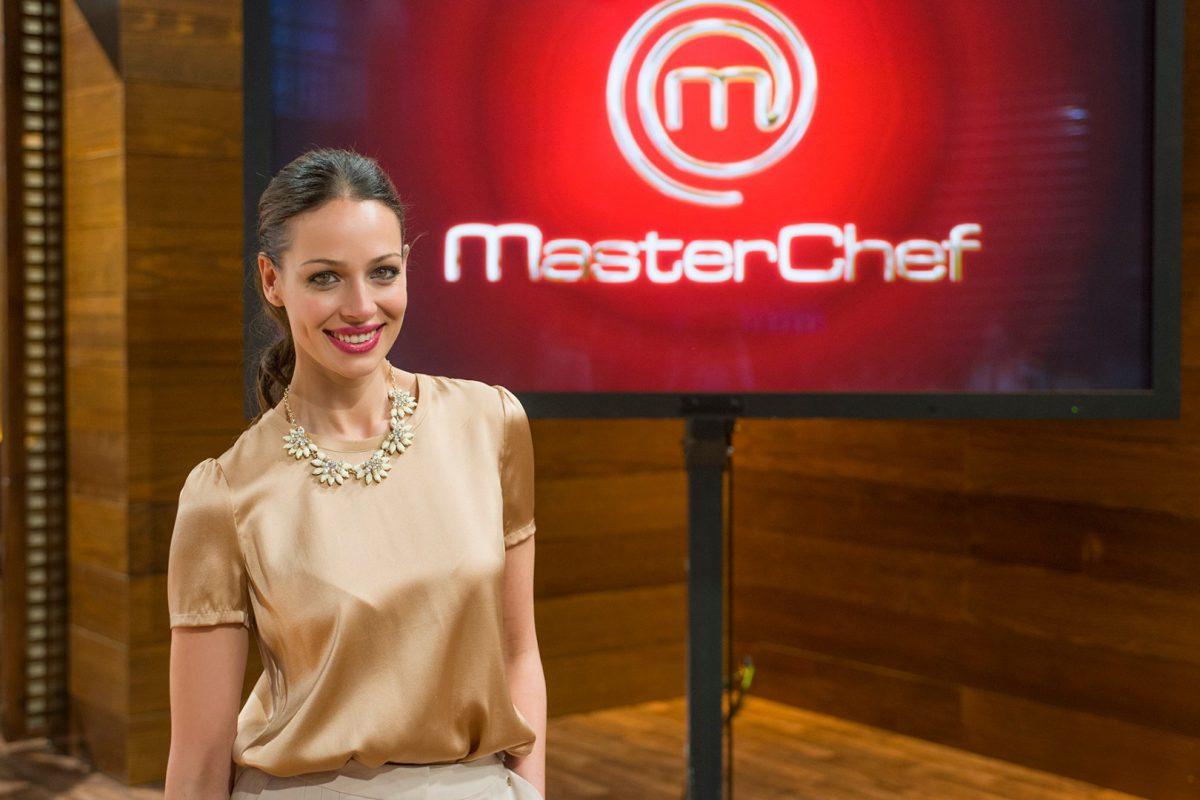 Eva González, presentadora de MasterChef