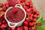 Mermelada de cerezas casera