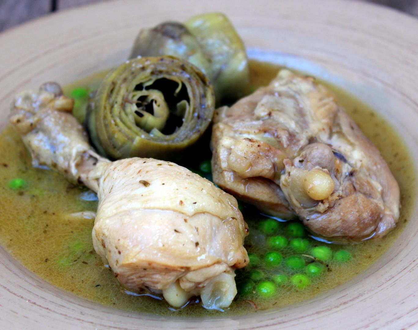 recetas de alcachofas frescas