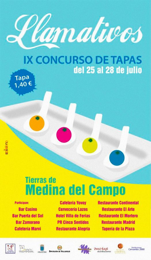 Concurso de Tapas Llamativos 2013