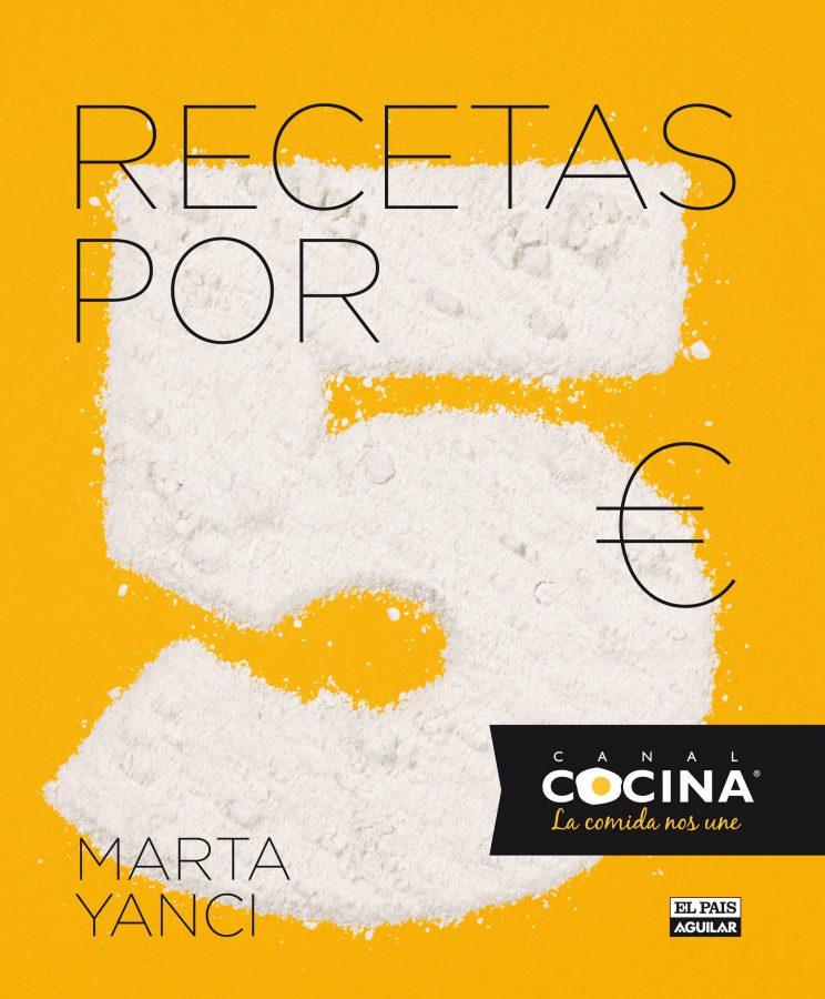 Libro Marta Yanci - Recetas por 5 euros