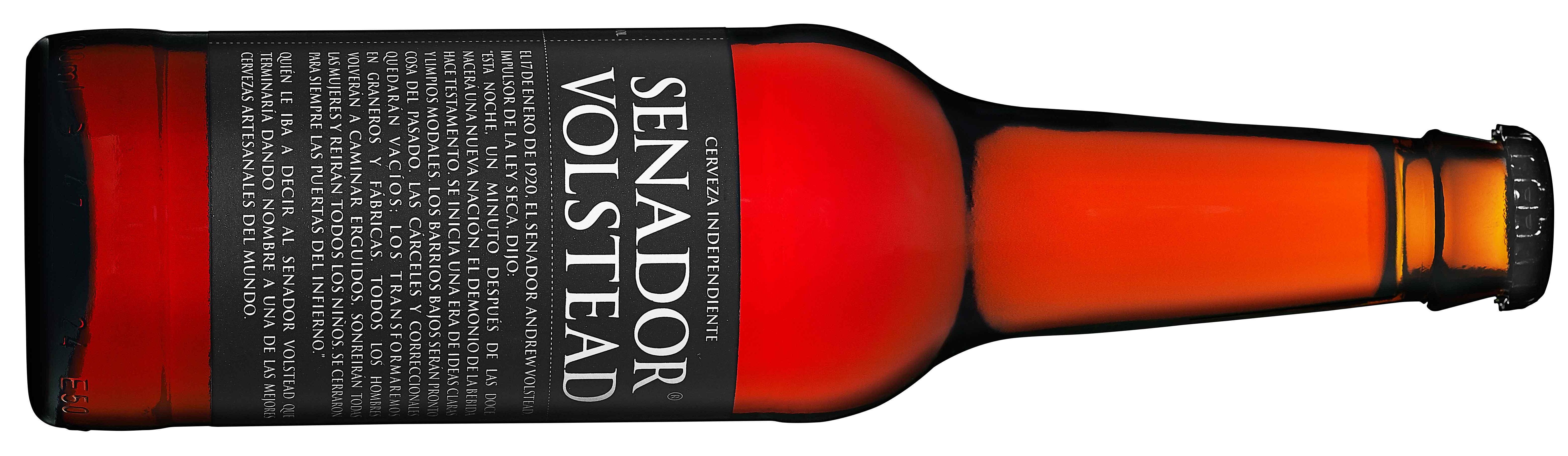 Cerveza artesanal Senador Volstead