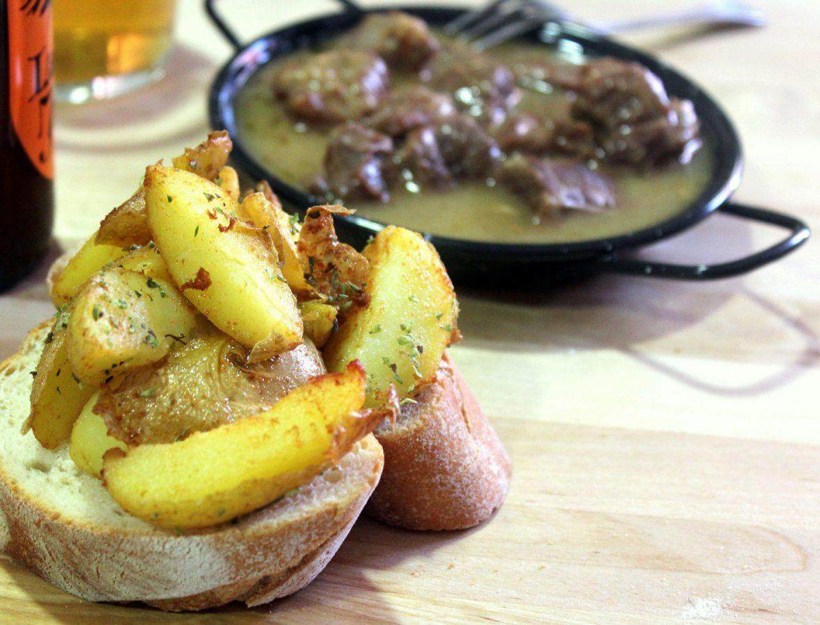 Tapa de patatas fritas