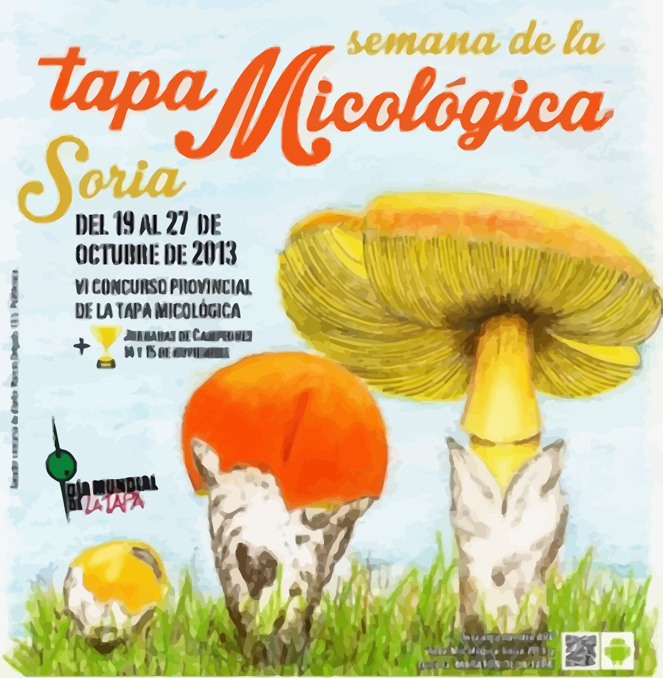 artel de la Semana de la Tapa Micológica de Soria 2013