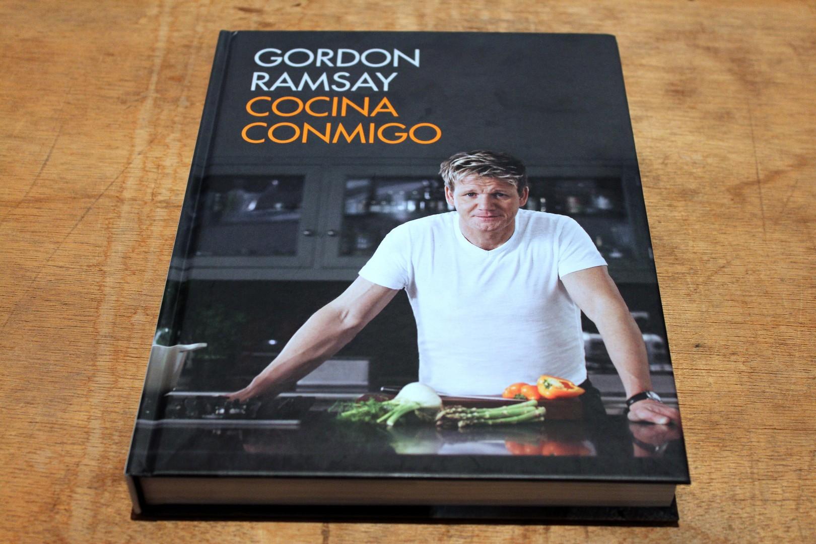 Cocina conmigo el nuevo libro de recetas de gordon ramsay for Los mejores libros de cocina