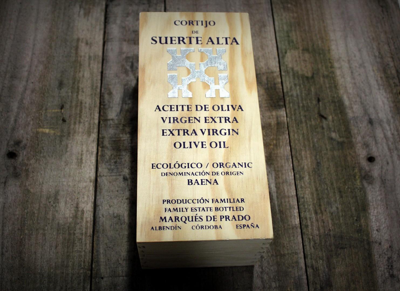 Cortijo de Suerte Alta, aceite de oliva virgen extraordinario