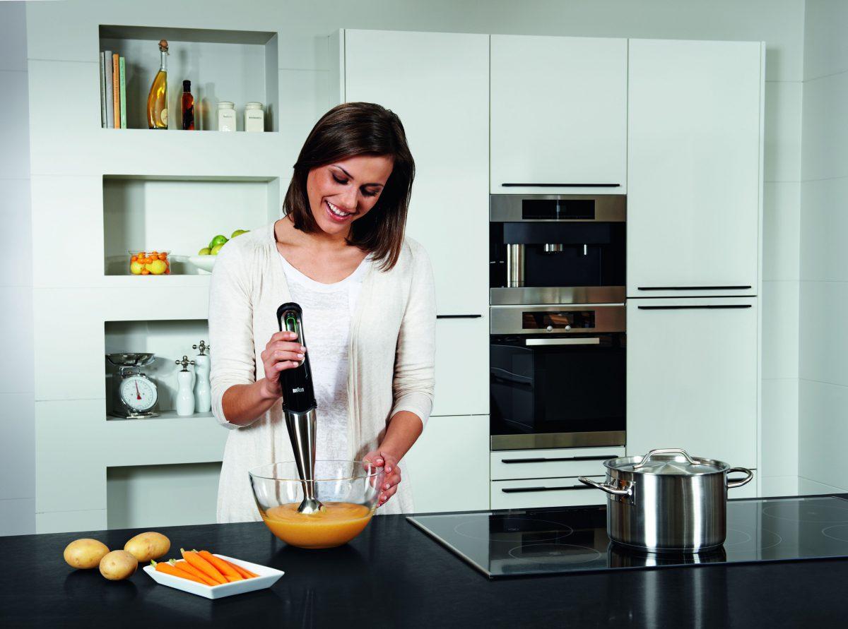 Braun Minipimer 7 en cocina