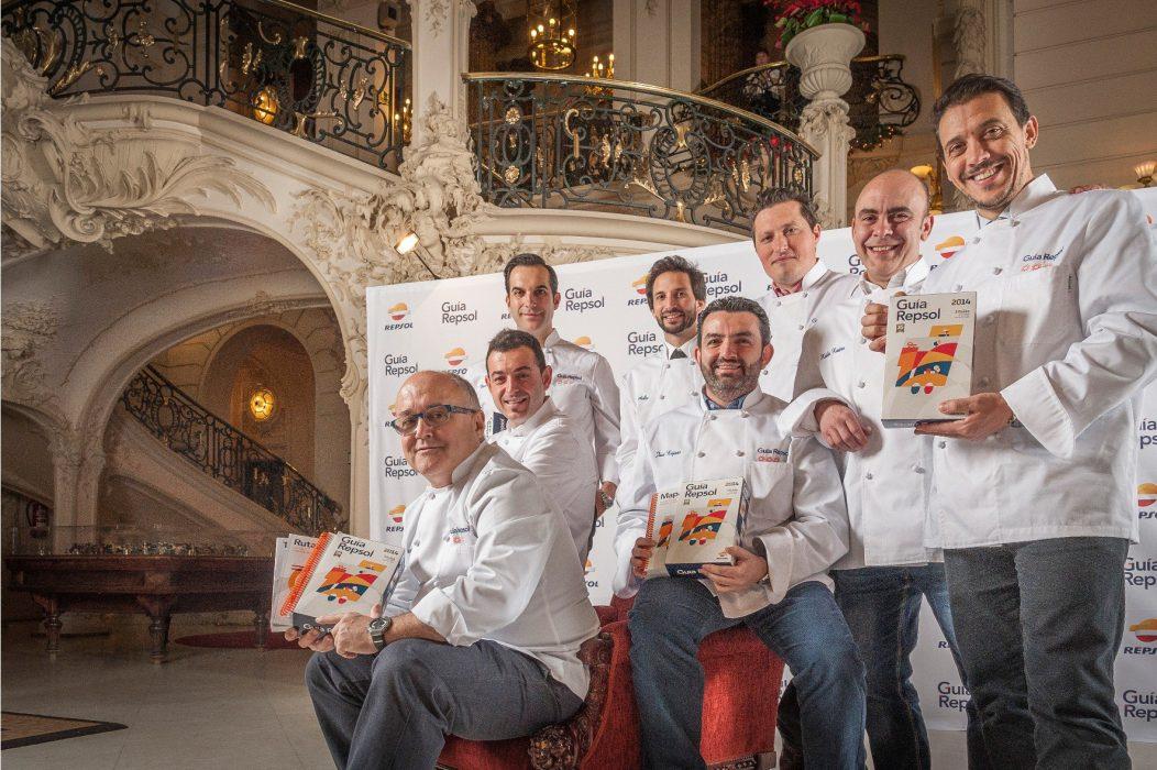 Cocineros 3 Soles Guia Repsol 2014
