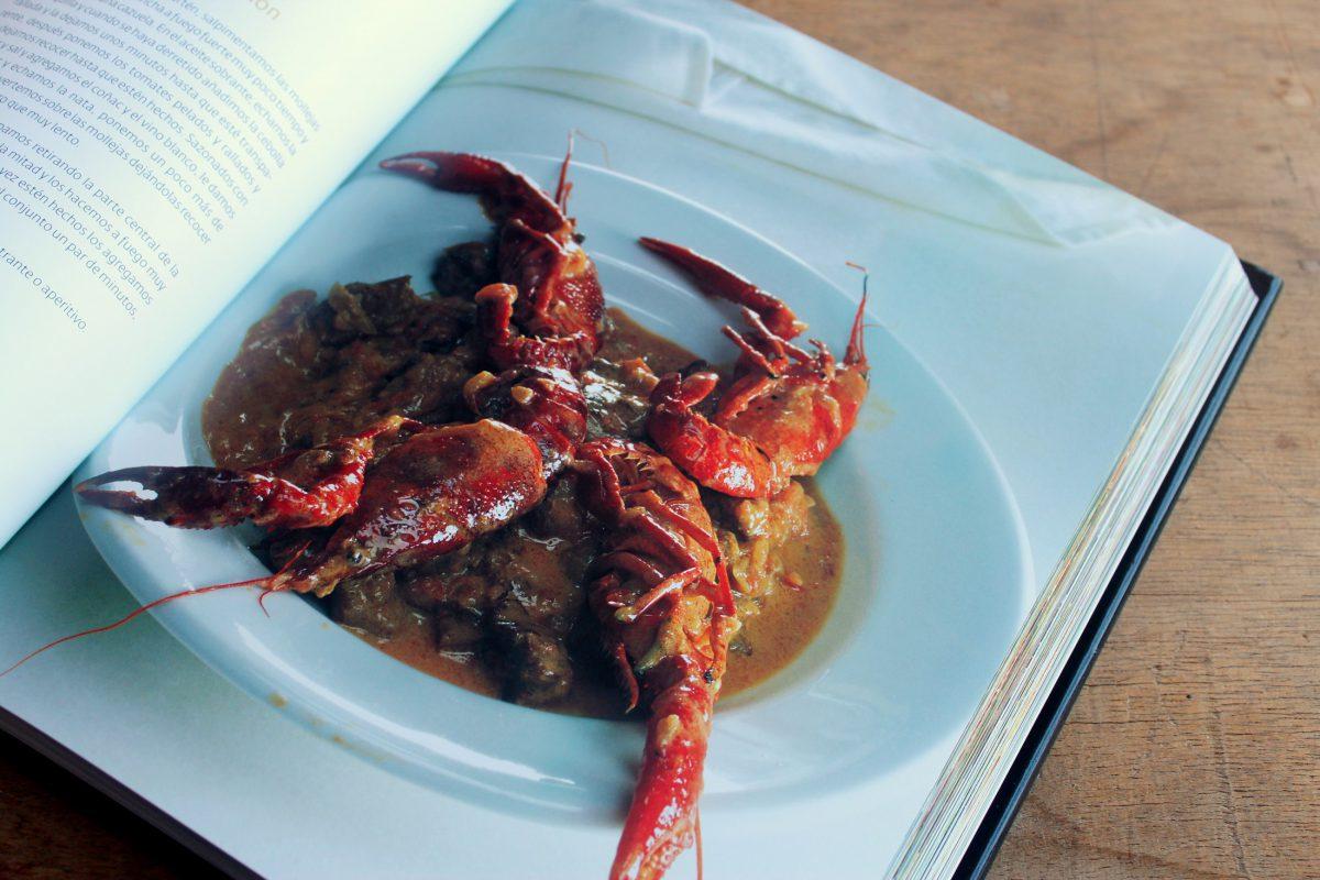 Mollejas con cangrejos - recetas con encanto