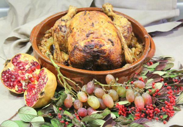 Pularda Asada, receta de Navidad