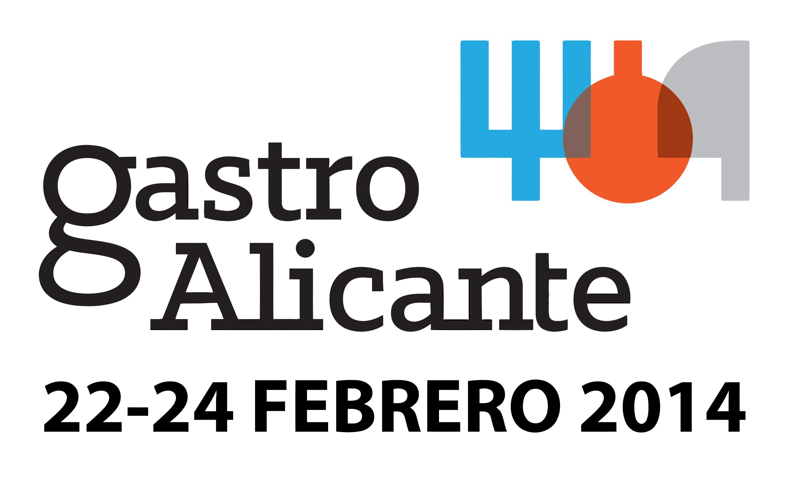 GastroAlicante 2014 Logo