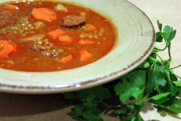 Lentejas con verduras en Thermomix