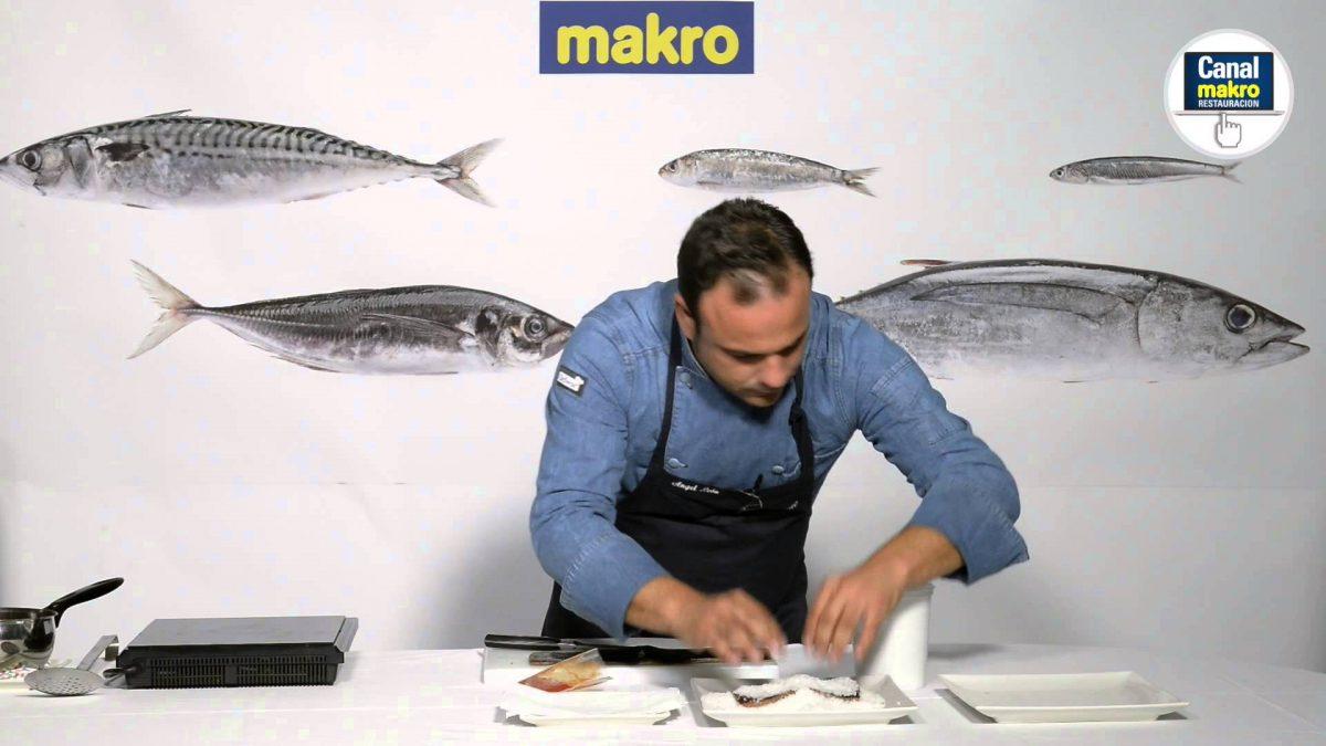 Vídeo recetas de Ángel León, técnicas y trucos